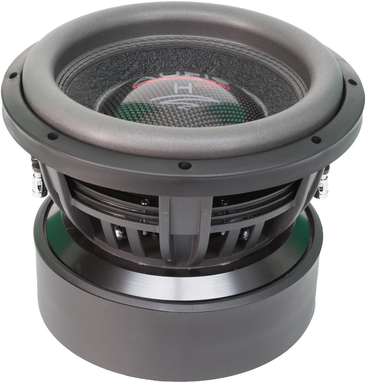 Audio System H10 Evo Subwoofer 10 Inch 2000 Watts Rms Dvc 2 Ohms Car Hifi Twente