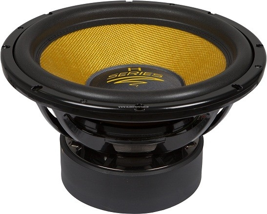 Audio System Helon H18 Spl Woofer 18 Inch 2400 Watts Car Hifi Twente