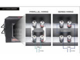 Digital Design LE-S06 bass-reflex 6,5 inch kist 250 watts RMS met slotpoort_