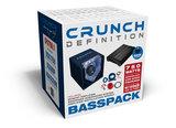 Crunch CPX750.1 bass-pack bandpass kist + monoblock + kabelset_