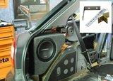 Custom fit subwoofer kist 8 inch voor Audi A3-8L 1996-2003_