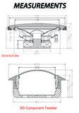Sundown Audio SD-6.5cs luidspreker set 16,5cm 2-weg compo 60 watts RMS_10