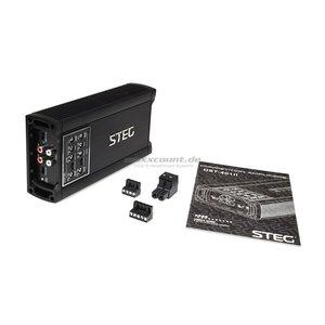 Steg DST401DII mini 4 kanaals versterker 480 watts RMS