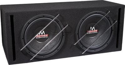 Audio System M12BR2-EVO bassreflex kist 2 x 12 inch 1000 watts RMS