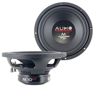 Audio System M10 EVO subwofoer 10 inch 300 watts RMS 4 ohms