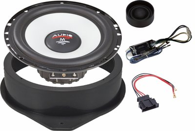 Audio System M165 EVO2 compo set voor Audi 165mm A6-A4-A3