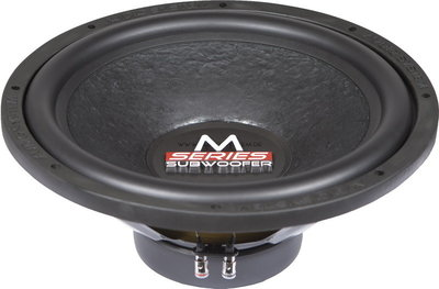 Audio System M15 subwoofer 15 inch 400 watts RMS SVC 4 ohms inbouwdiepte 160mm