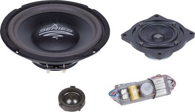 Audio System X200 Golf V EVO plug & play 3-weg 20 cm compo set 150 watts RMS 3 ohms