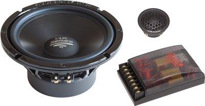 Audio System HX165 DUST EVO high end 2-weg 16,5 cm compo luidspreker set 140 watts RMS 4 ohms