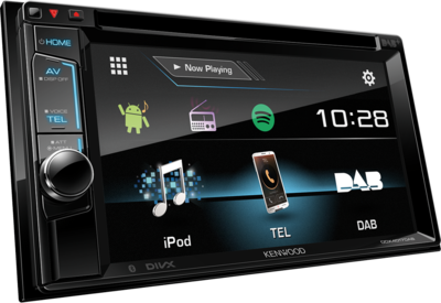 kenwood ddx4017dab multi media dab autoradio car hifi. Black Bedroom Furniture Sets. Home Design Ideas