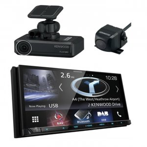 Kenwood DNX8170DE3CD navigatie spotify Apple Carplay & Android Auto camera & dashcam