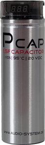 Audio System P/CAP EVO condensator 1.5 farad capaciteit met rood led display en auto remote