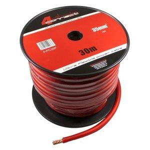 4CONNECT 4-PC35P rol 30 meter stroomkabel rood 35mm2