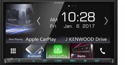 Kenwood DMX7017BTS radio Apple Carplay & Android Auto spotify usb bluetooth
