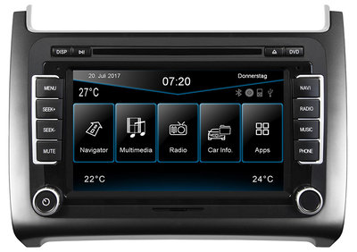 ESX VN720 VO-P6C-S (iGo) navigatie radio VW Polo